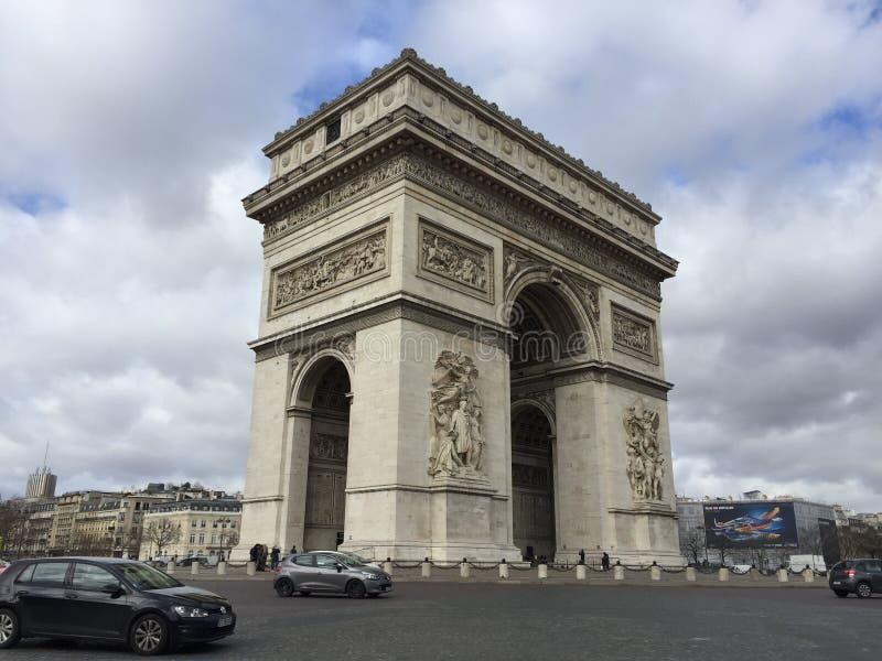 Arc de Triomphe στοκ εικόνα