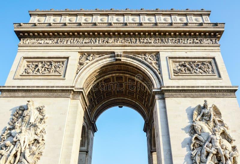 Arc de Triomphe - Arch of Triumph Paris - France royalty free stock photography