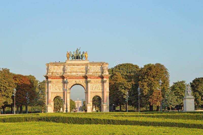 Arc de Triomphe du Carrossel foto de stock royalty free