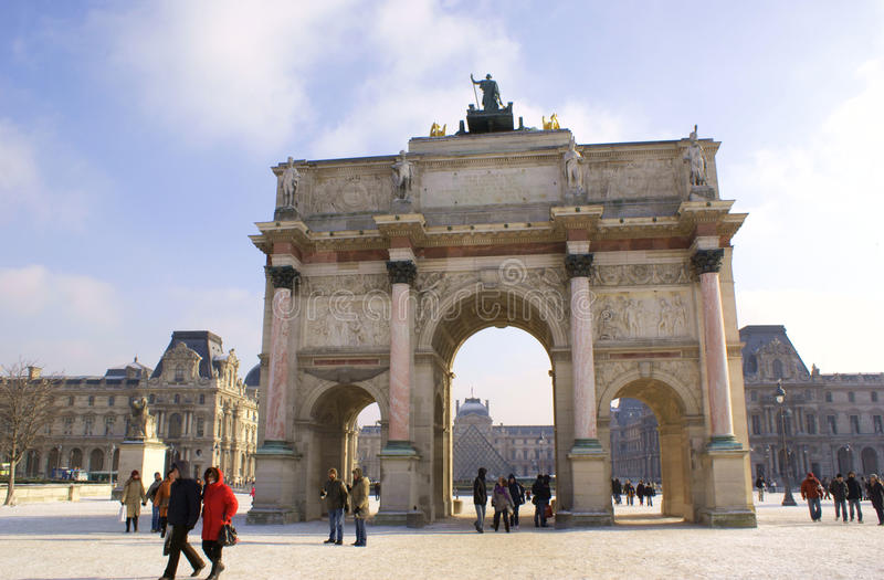 Download Arc De Triomphe Du Carrousel, Paris Editorial Photography - Image: 13365552