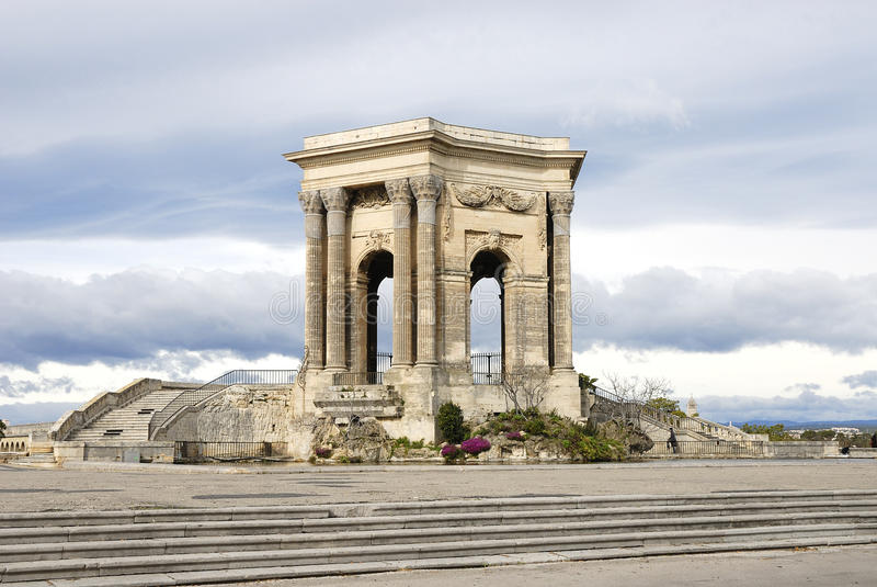 arc de triomphe montpellier fotografia stock immagine 20447130. Black Bedroom Furniture Sets. Home Design Ideas