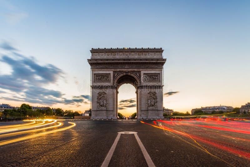 Download Arc De Triomphe París Francia Foto de archivo - Imagen de color, señal: 41918098