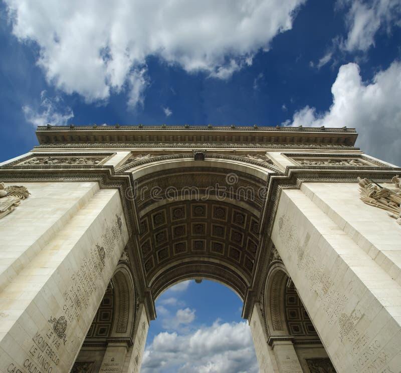 Download Arc de Triomphe, Paris stock photo. Image of street, tomb - 25503278