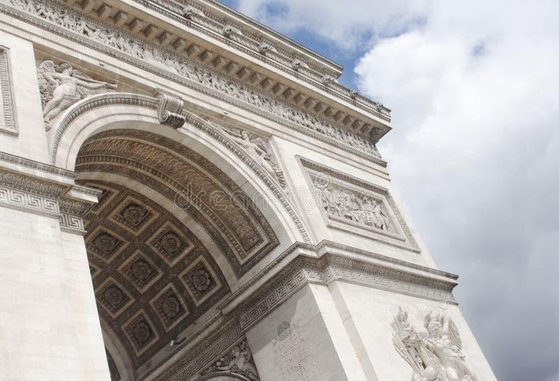 Download Arc de Triomphe, Paris foto de stock. Imagem de francês - 26510678