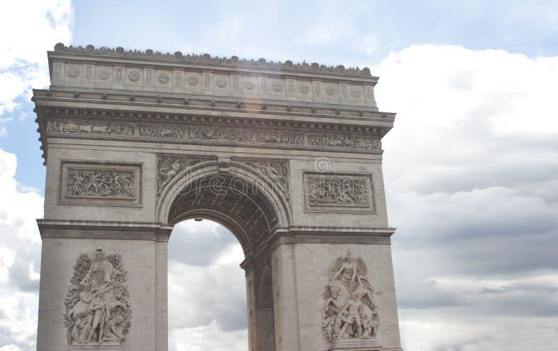 Download Arc de Triomphe, Paris foto de stock. Imagem de tourism - 26510684