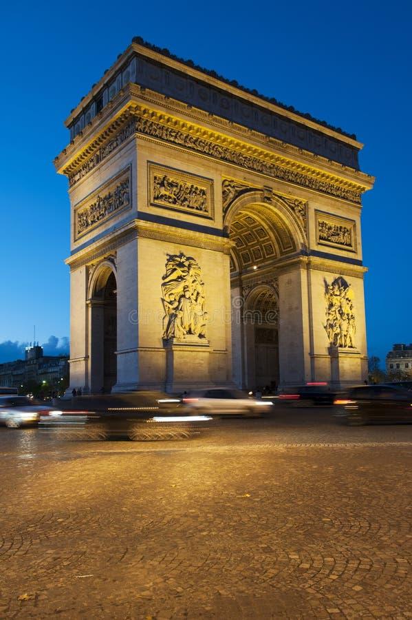 Arc de Triomphe - Paris imagens de stock royalty free