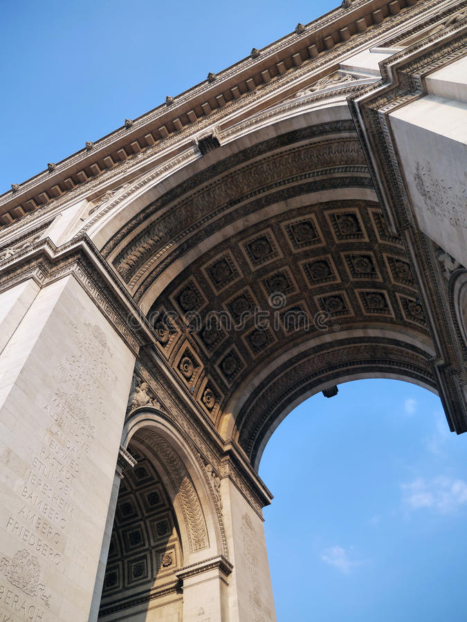 Download Arc de Triomphe stock image. Image of holiday, napoleon - 33338807