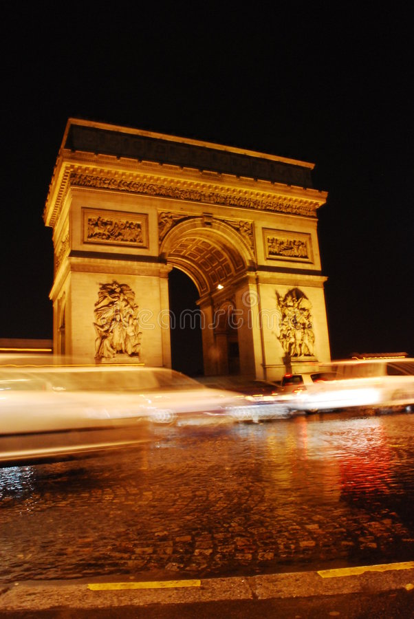 Arc de Triomphe, Paris photographie stock