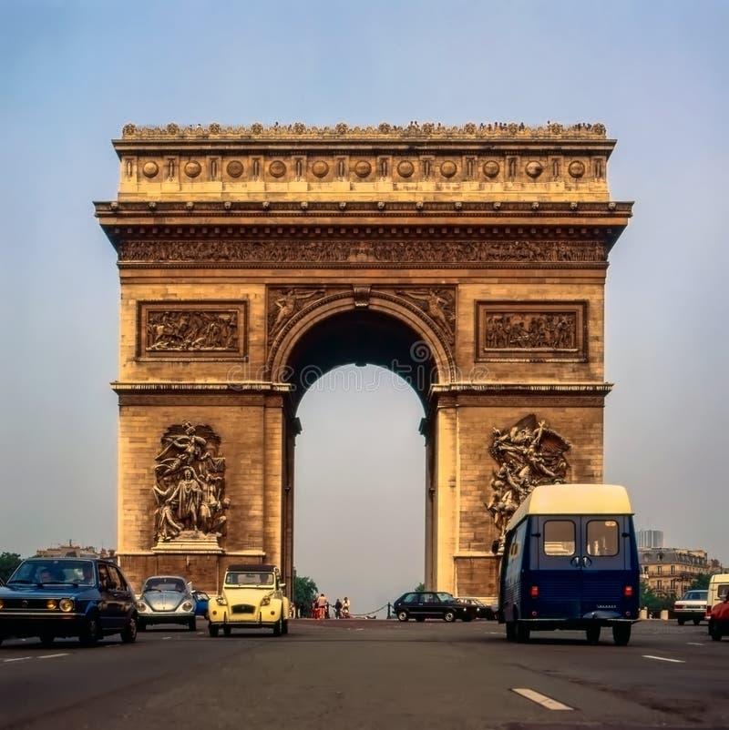 Arc de Triomphe, Paris imagem de stock