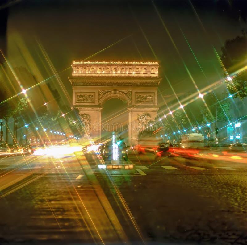 Arc de Triomphe, Paris fotos de stock royalty free