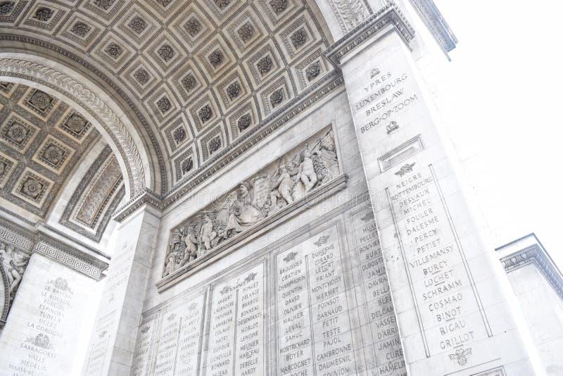 Arc de Triomphe, Paris photos libres de droits