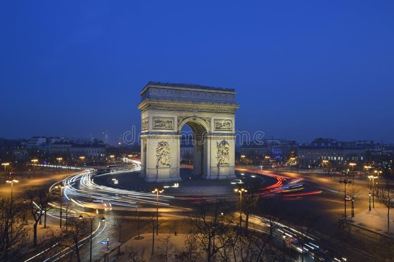 Arc de Triomphe - Paris stock image