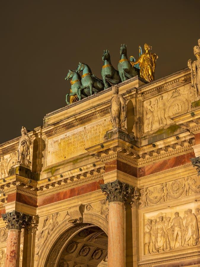 Arc de triomphe Paris. France royalty free stock photo