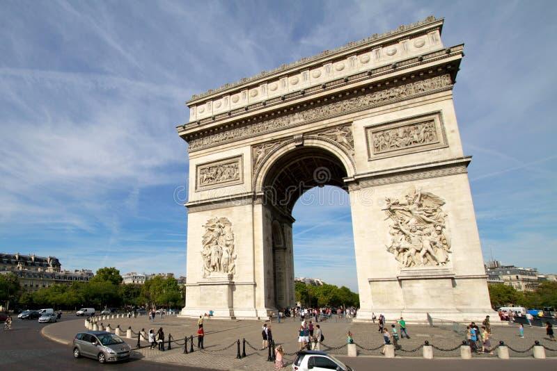 Download Arc De Triomphe - Paris France Editorial Photography - Image: 23040042