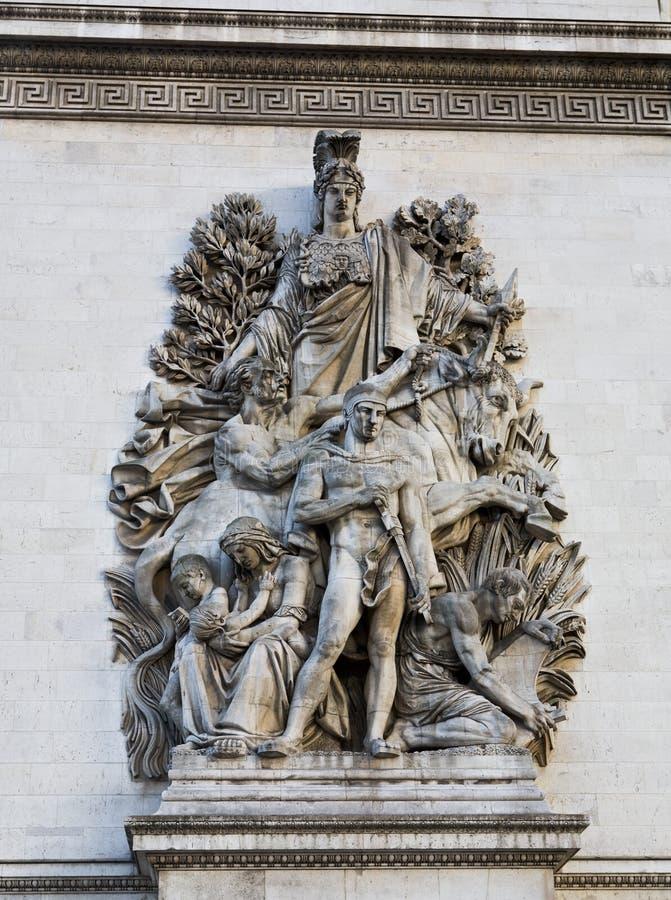 Download Arc De Triomphe Paris France Stock Image - Image: 7700011