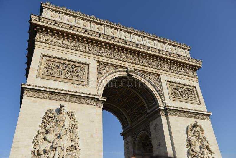 Arc de Triomphe, Paris, France fotos de stock royalty free