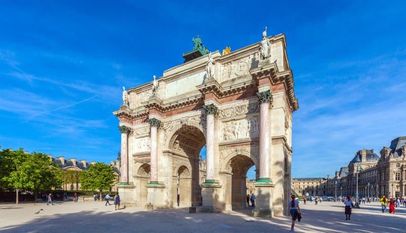 Arc de Triomphe, Paris, France royalty free stock images
