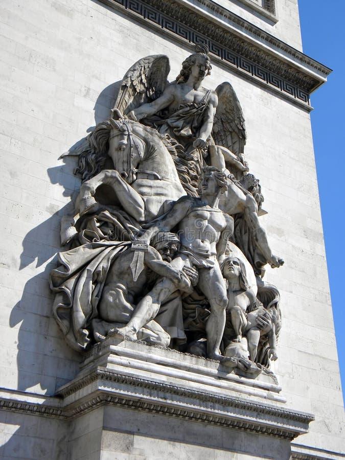 Arc de Trionphe, Paris