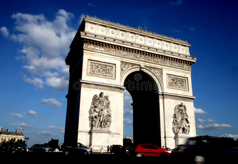 Download Arc-de-triumph Stock Photo - Image: 10062060