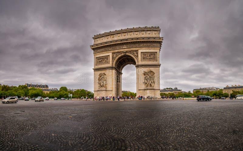 Arc de Triumph stockbilder