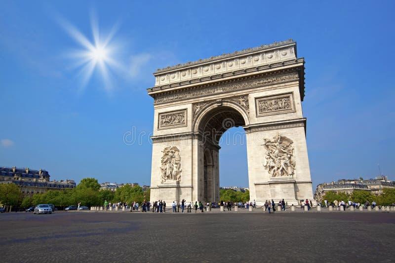Arc de Triumph photo libre de droits