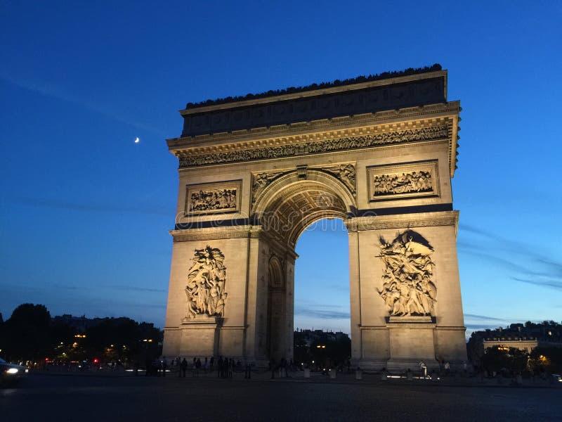 Arc de Triumph photographie stock libre de droits