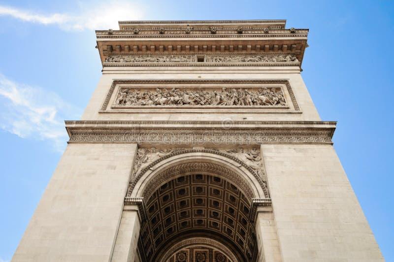 Arc de Triumph, Paris stockfotos