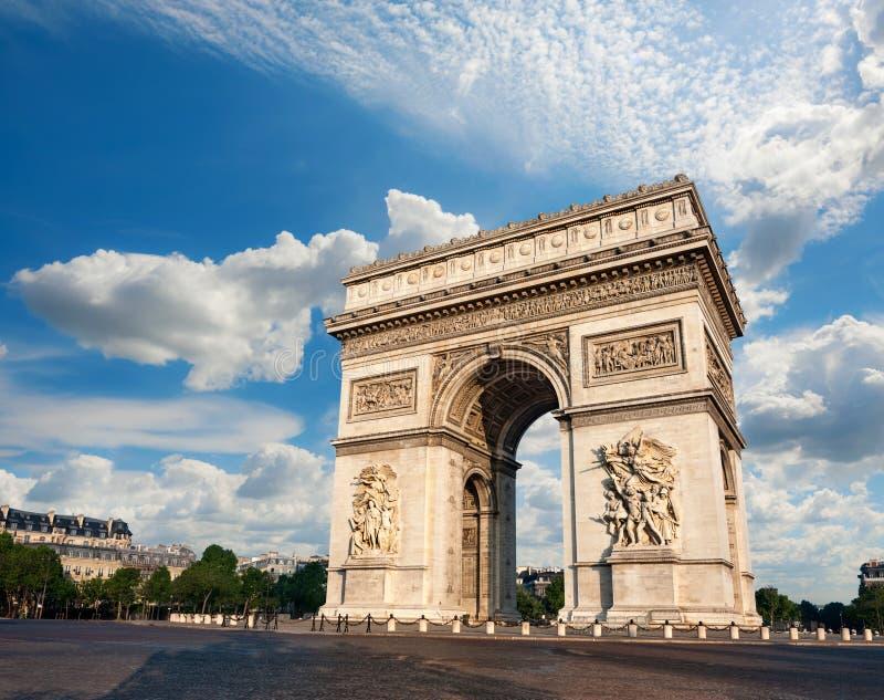 Arc de Triumph. In Paris, France stock photography