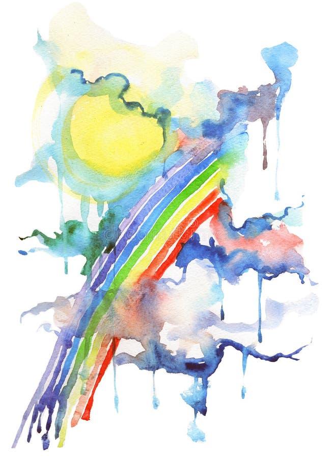 Arc-en-ciel illustration libre de droits