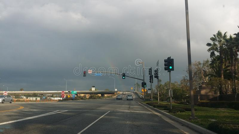Arc-en-ciel dans Westchester images libres de droits