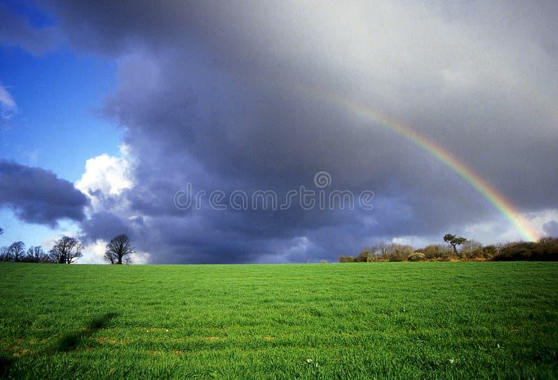 Arc-en-ciel de Brittany. image libre de droits