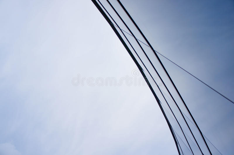 Arc Glass Structure Royalty Free Stock Images