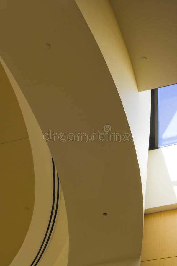 Arc jaune image stock