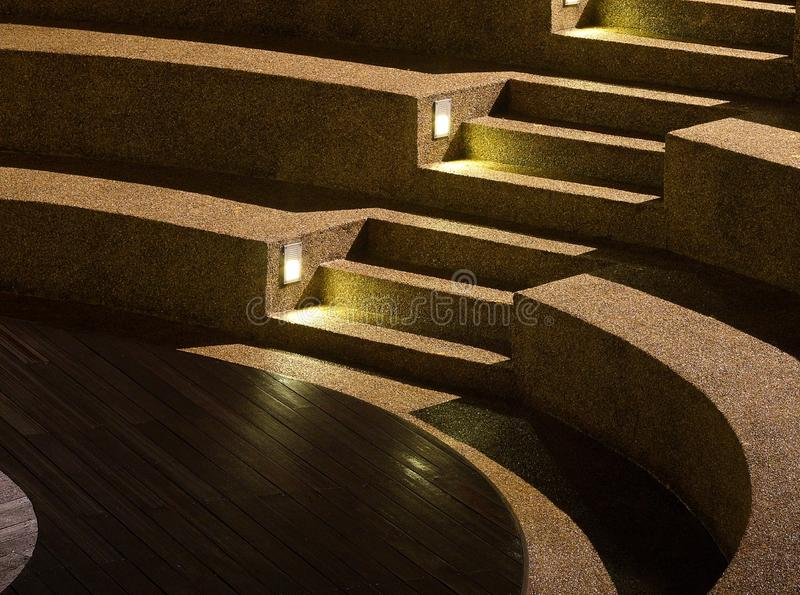 Download Arc Shaped Stairs stock photo. Image of steps, light - 18897016