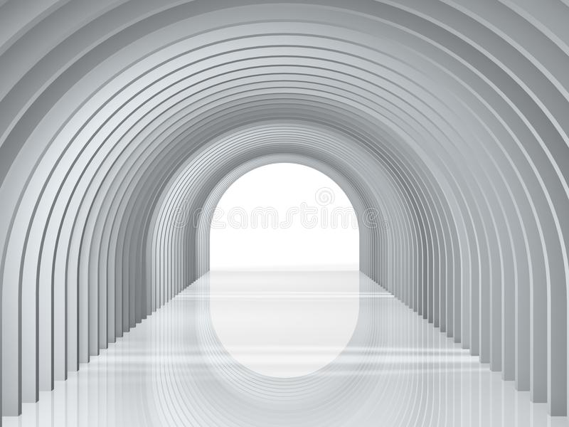 Arc tunnel royalty free stock photo