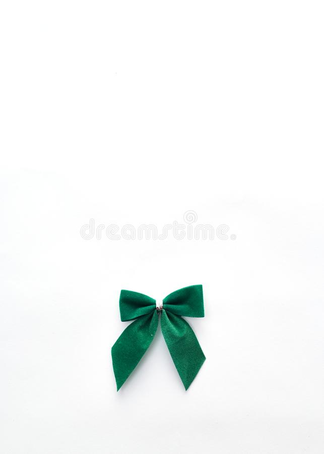 arc vert simple de velours images libres de droits