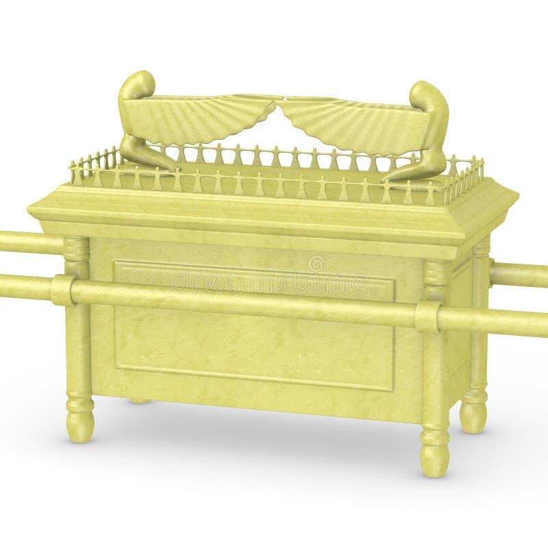 Arca da obrigação contratual (do ouro) ilustração do vetor