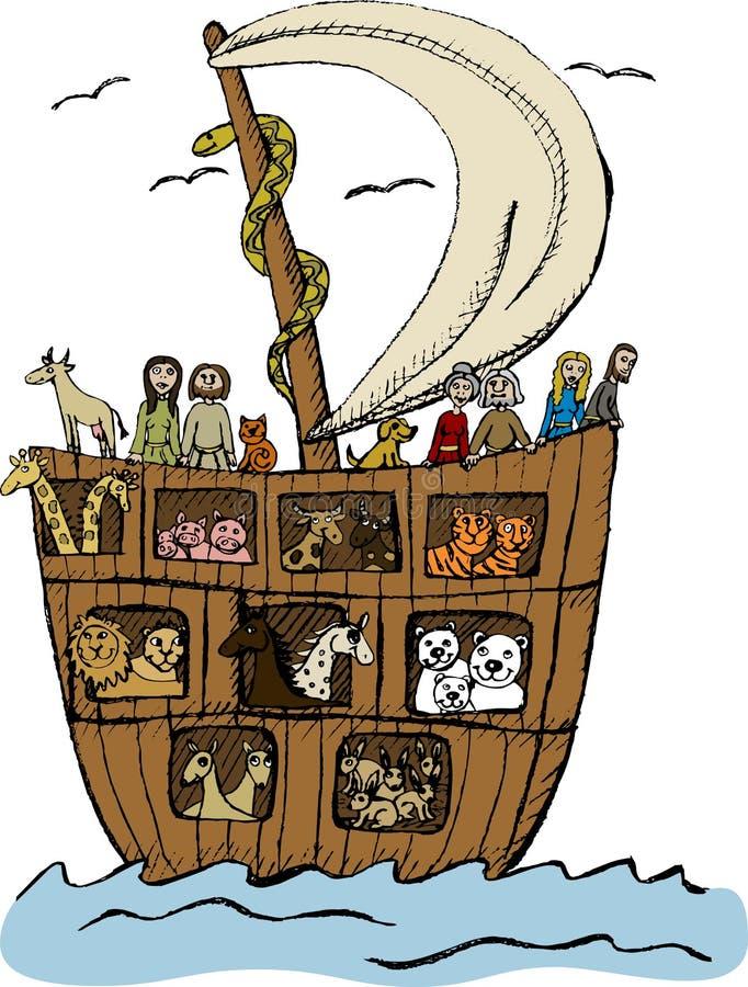Arca de Noah fotografía de archivo
