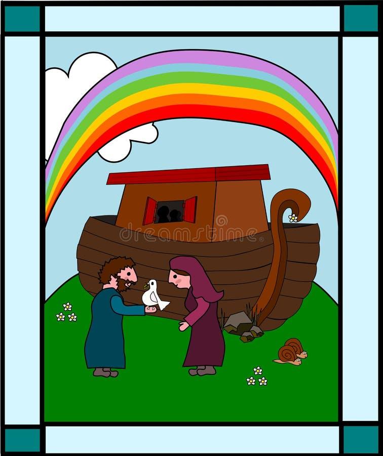 Arca de Noah s ilustração do vetor