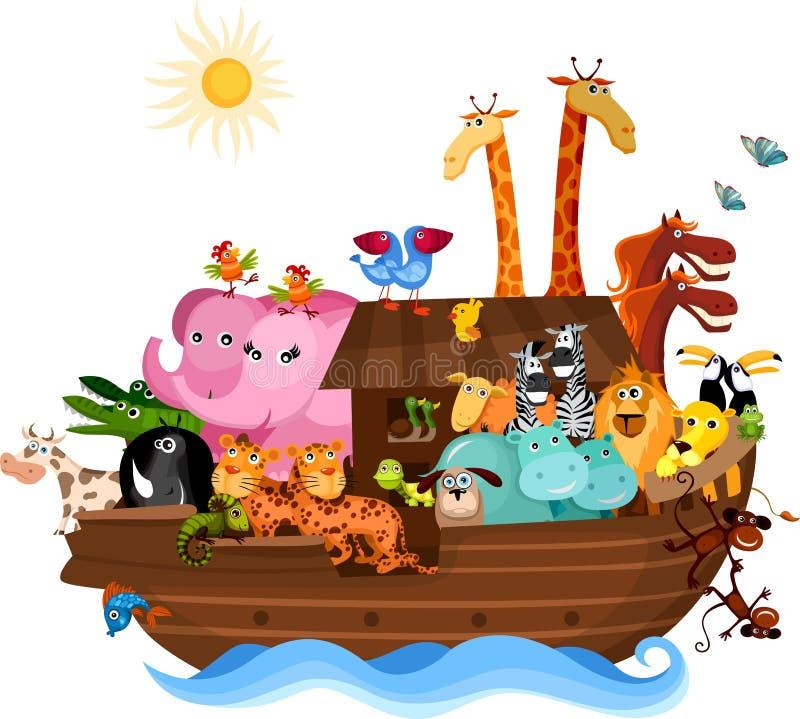 Arca del Noah illustrazione vettoriale