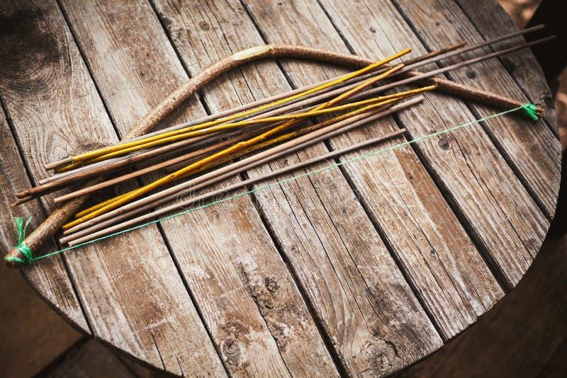 Arca e frecce fotografie stock
