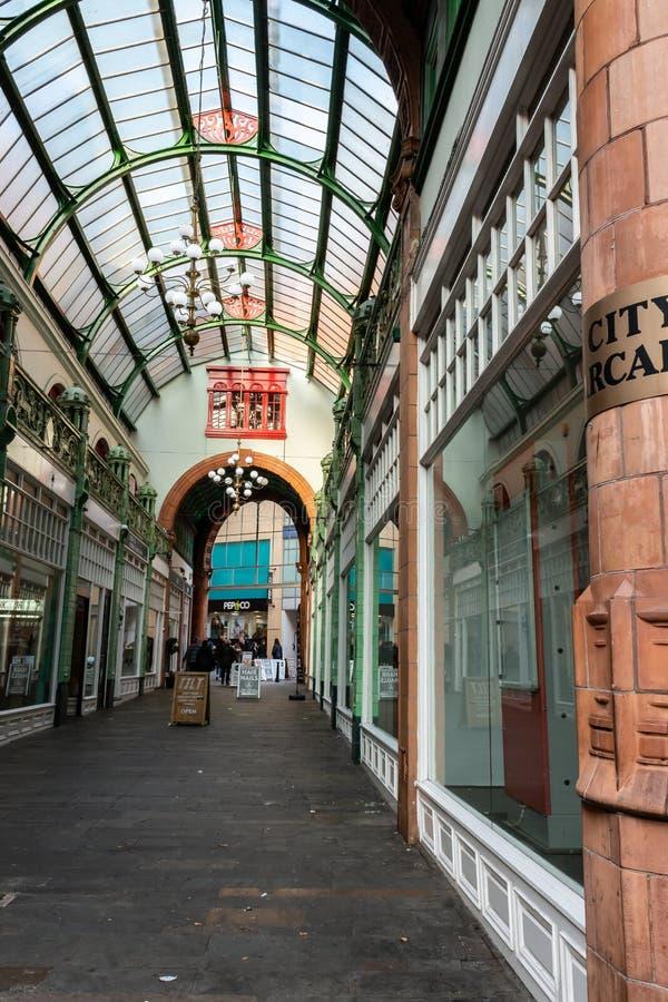 Arcada da cidade, Birmingham fotos de stock royalty free