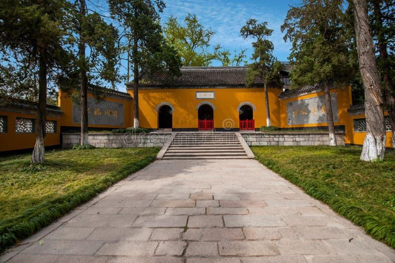 Arcada da porta de Yangzhou Daming Temple imagem de stock royalty free