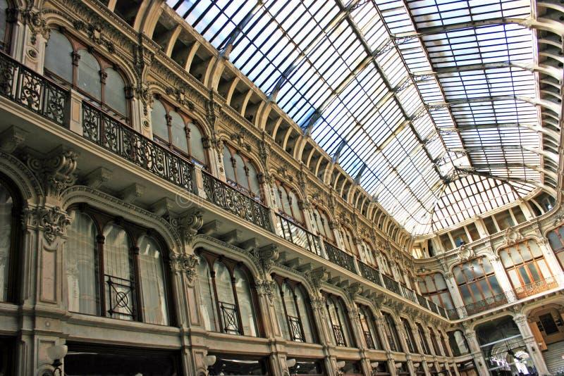 Arcada de Turin fotos de stock