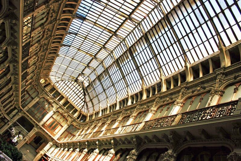 Arcada de Turin imagem de stock