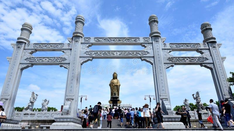 Arcada do memorial de Guanyin fotos de stock