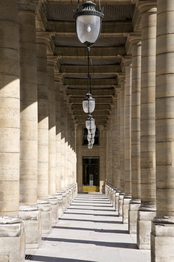 Arcada do Palais Royal fotografia de stock royalty free