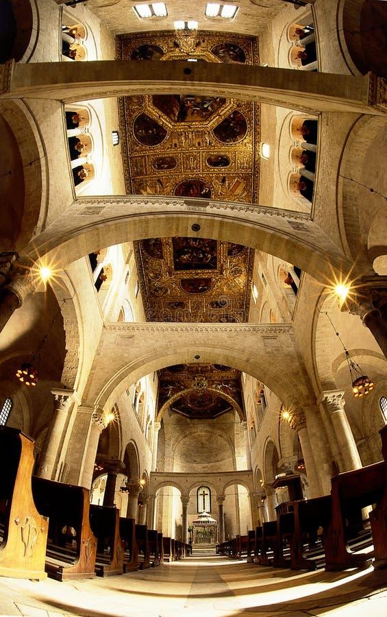 Arcada do Romanesque imagem de stock royalty free
