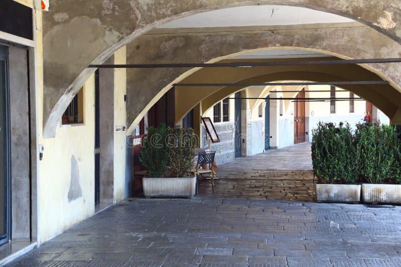 Arcada em Pádua, Itália imagens de stock royalty free
