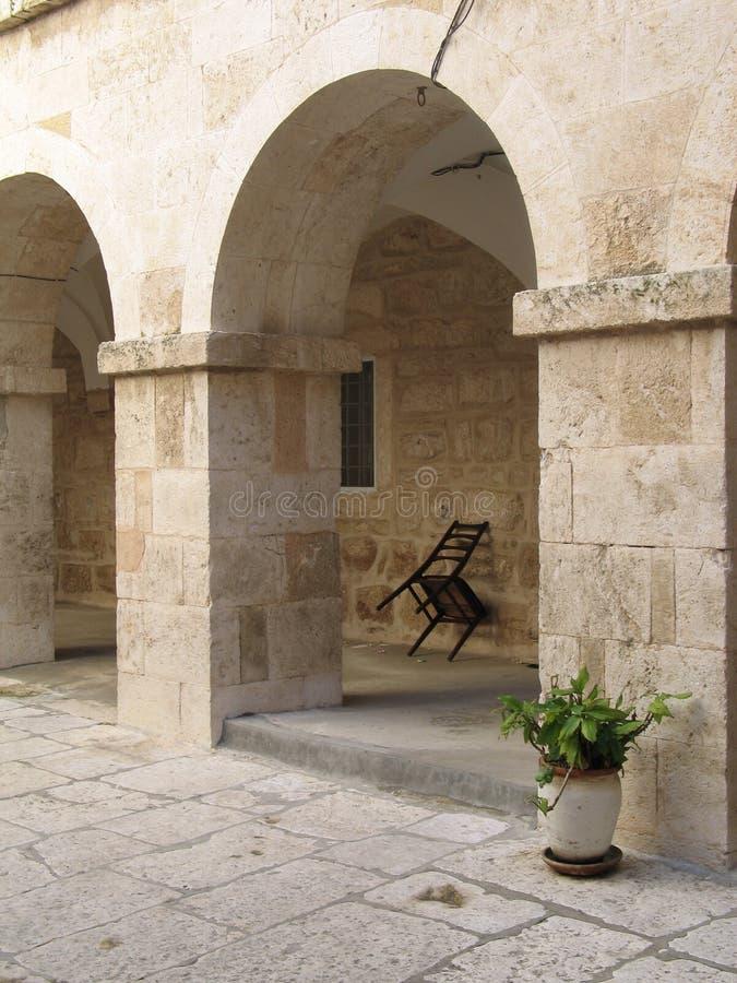 Arcada en Bethlehem foto de archivo libre de regalías